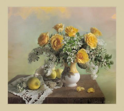 Магия цветов в работах Луизы Гельтс
