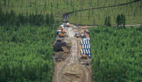 Как строится «Сила Сибири» в Южной Якутии