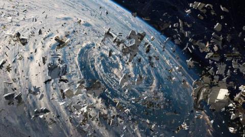 Проблема космического мусора…