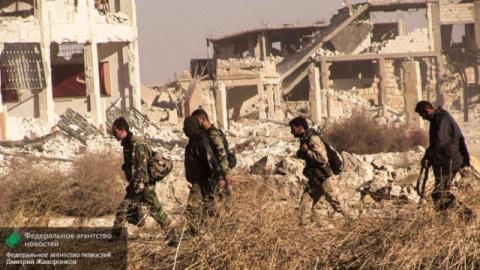 Армия Сирии освободила от террористов посёлок Русафа под Раккой