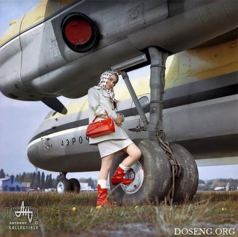 Советская реклама самолетов …