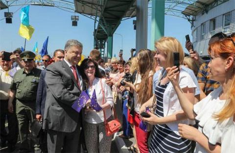 МИД Украины: Порошенко летит…