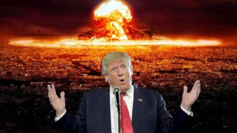 Трамп подталкивает мир к ядерной войне. Руслан Осташко