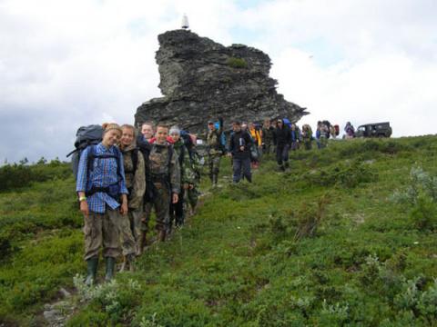 Студенты обнаружили на перевале Дятлова магнитную аномалию