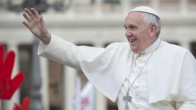 Папа Римский Франциск встрет…