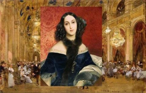 Загадка красавицы с портрета…