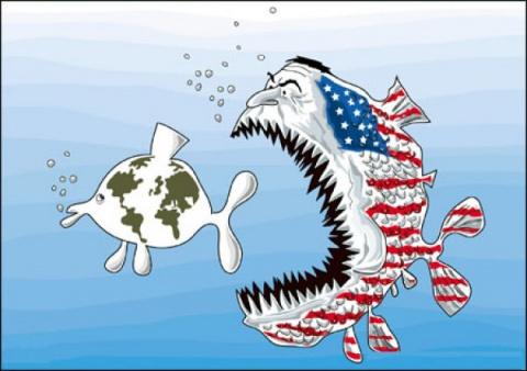 США обеспокоены по самые гланды