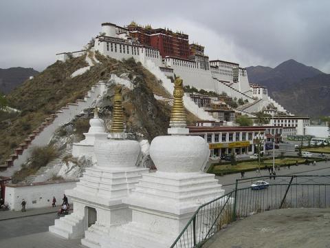Дворец Потала Лхаса - Тибет