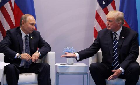 1:0 в пользу гроссмейстера Путина.