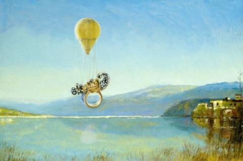 Волшебный шар над озером Севан