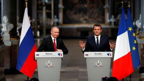 Путин жёстко подколол Макрон…