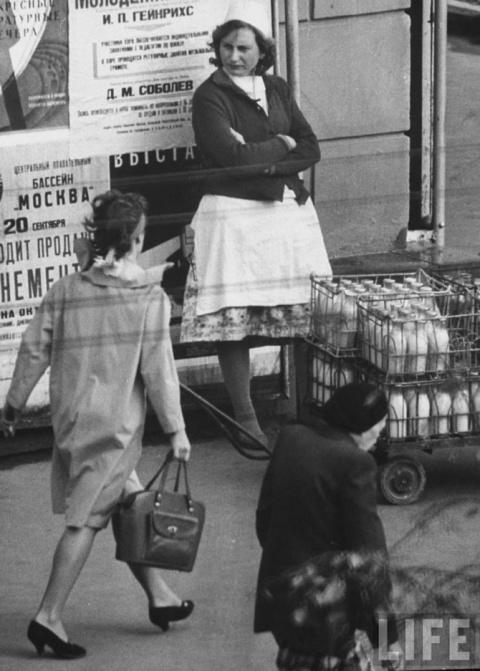 Москва в 1962 году