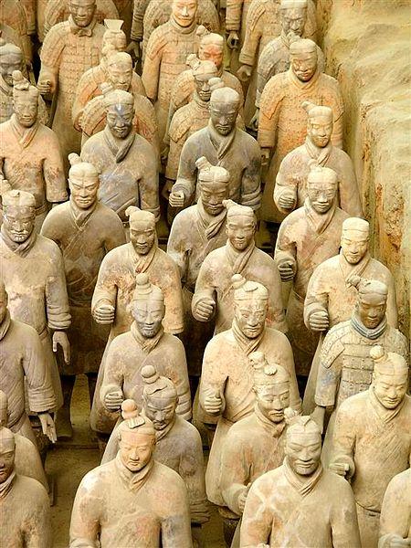 Терракотовая армия первого императора Китая