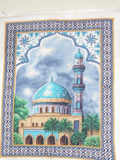 Мусульманские молитвы вышивка крестом схемы 81