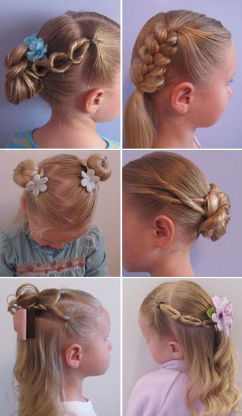 детские причёски - Самое