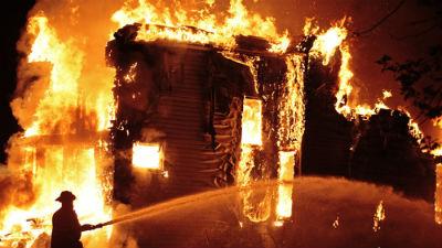 Пожар в Ростове-на-Дону: пог…