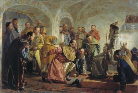 Острая опричная недостаточность в России – или для Грозный был грозен?