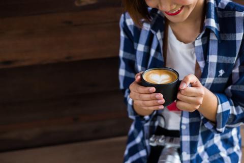 Правила поведения в кофейне:…