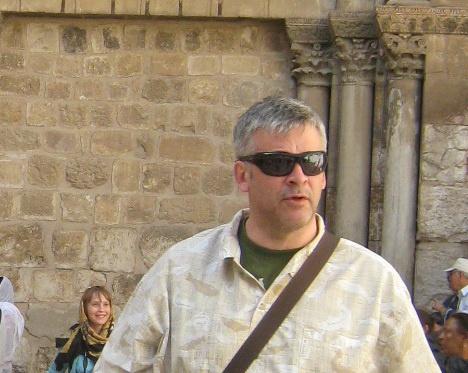 Президент компании Валери Элит Андрей Шувалов в Иерусалиме