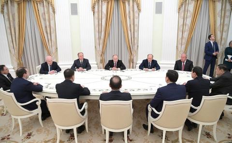 Встреча с руководителями органов безопасности и спецслужб стран СНГ