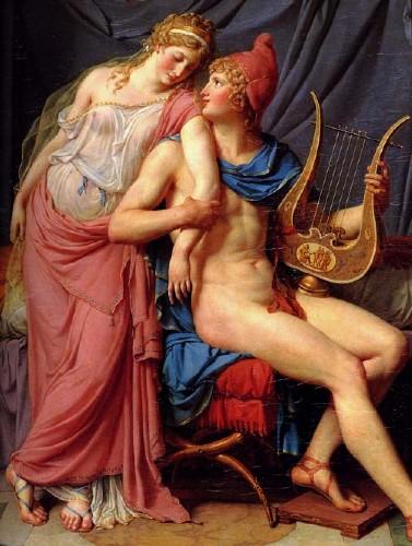 Парис и Елена. История мифической любви