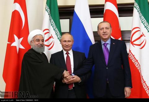 Трехсторонняя встреча в Сочи…