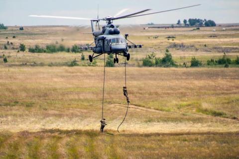 Военные ВВО получили партию вертолетов Ми-8АМТШ «Терминатор»