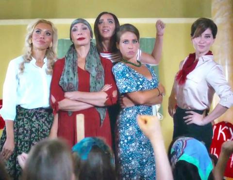 Шоу «Бабий бунт»: о чем проект