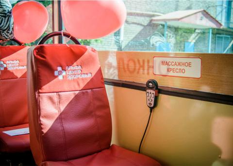 Мурманский троллейбус оборудовали массажными креслами и wi-fi