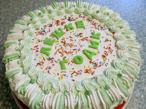 Торт на горячем молоке + фото моих новых тортиков для Вас