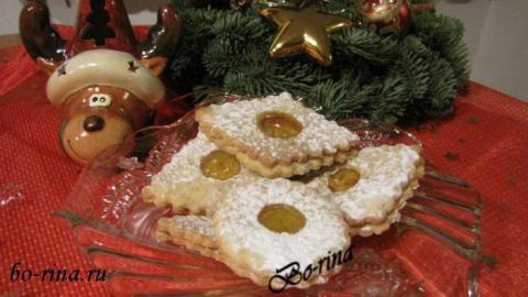 Spitzbuben - рождественское печенье с прослойкой