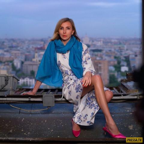 """Светлана Бондарчук в позе """"а-ля Волочкова"""" поразила фанатов"""