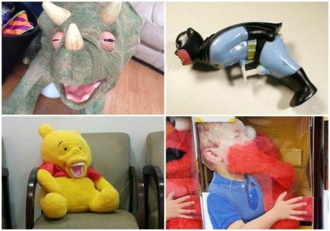 Cтранныe детские игрушки  18+