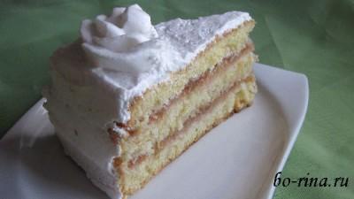 Торт с ревенем