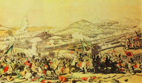 Победа Суворова над великим визирем