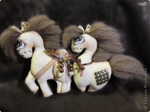 Шьем кофейную лошадку - символ 2014 Нового года