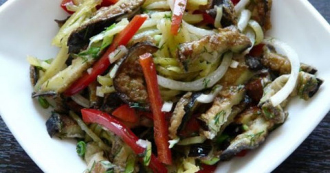 Самый лучший салат из баклаж…