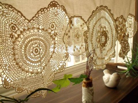 Идеи штор и занавесок в винт…
