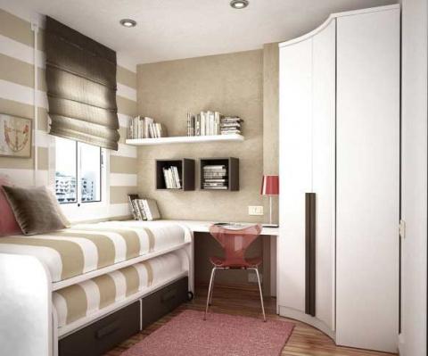 Идеи дизайна маленьких квартир!