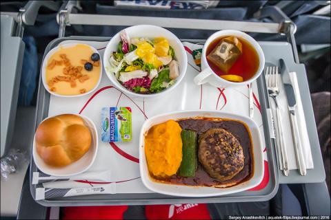 Что происходит с самолетной едой, которую не съели?