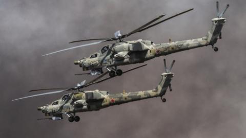 «Ночные охотники» ВКС РФ уничтожают боевиков ИГИЛ на юге от Пальмиры