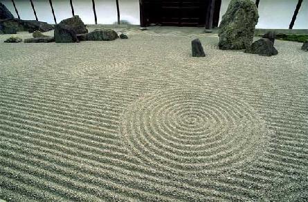 Японский сад камней - филосо…