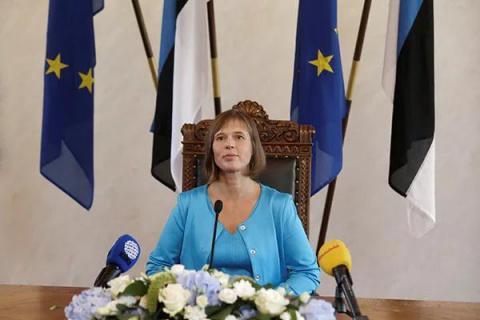 Президент Эстонии напомнила Путину о его обязательствах и предложила первому примириться с Западом