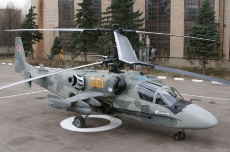 """К-52 """"Аллигатор"""" вертолет Камов"""