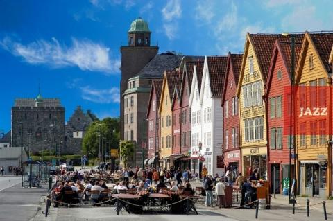 Берген - ворота в царство фьордов.
