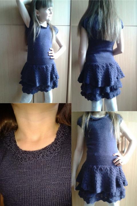 платье по модели Ральфа Лорена
