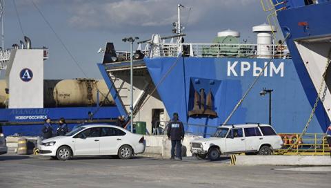 В Крыму ликвидировали компанию — оператора Керченской паромной переправы