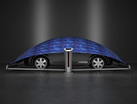 Палатка с зарядкой для вашего автомобиля