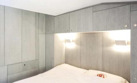 Квартира 30 кв метров: 2 спальни, гостиная, кабинет и ванная!