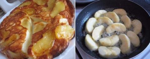 Оригинальный творожно-яблочный пирог. Просто тает во рту…